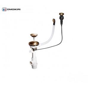Клапан-автомат для одночашевых моек Omoikiri А-02-АВ-1