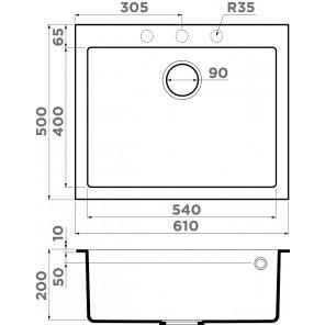 Omoikiri Bosen 61-DC