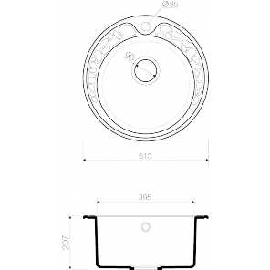 Omoikiri Tovada 51-DC